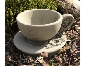 Tea Cup and Saucer Planter